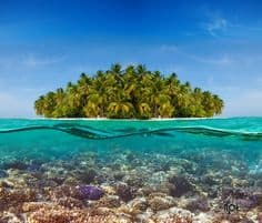 Scuba Diving In The Maldives At A Secret Island