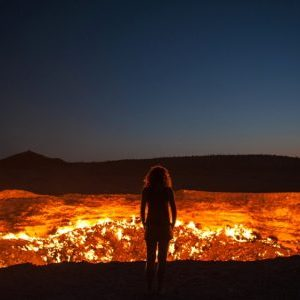 "Turkmenistan's gas crater dubbed as "" Door to Hell"" will give you the creeps"
