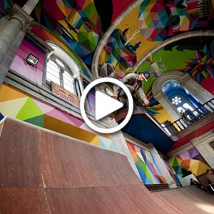 WATCH: Practice A Different Religion At This Abandoned Church Turned Skate Park!