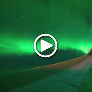 WATCH: This Flight Just Took People To Watch Southern Lights From The Sky!