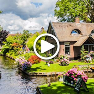 WATCH: The Enchanted Village Of Giethoorn Is Straight Out Of Fairy Tale!