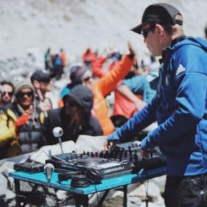 The iconic Paul Oakenfold just played a gig at a Mount Everest base-camp!