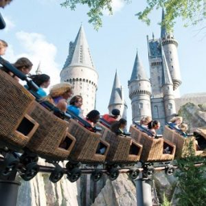 A new Harry Potter Themed Ride is in the making. Muggles get ready to scream!!
