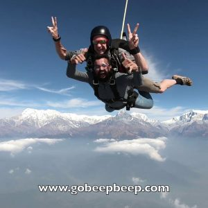 Instead of Skydiving In India, Come Skydive Over The Himalayas In Nepal